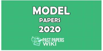 Advanced Level Exam 2020 Model Papers – Sinhala Medium