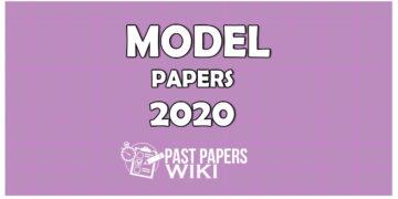 Advanced Level Model Paperin Sinhala Medium - 2020
